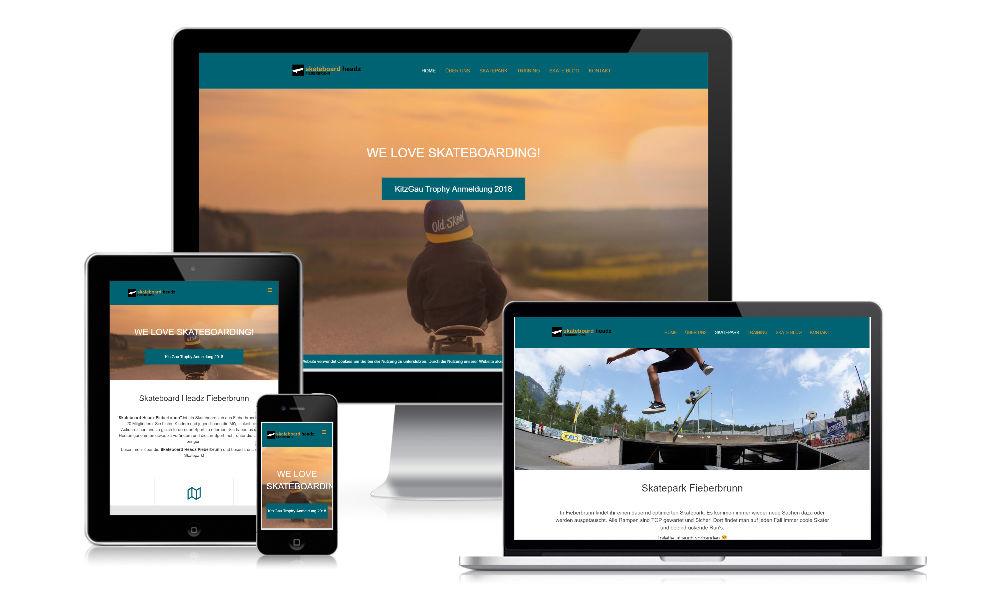 klubarbeit.net -referenzen-web-skateboard-headz