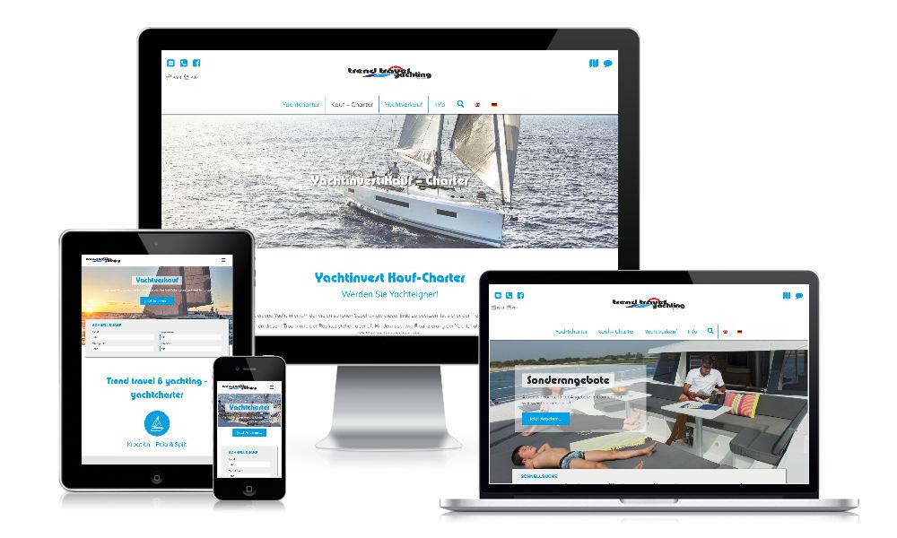 klubarbeit.net -referenzen-web-trend-travel-yachting